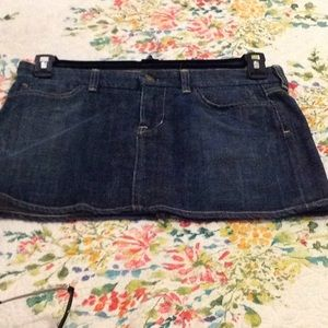 COH Denim skirt